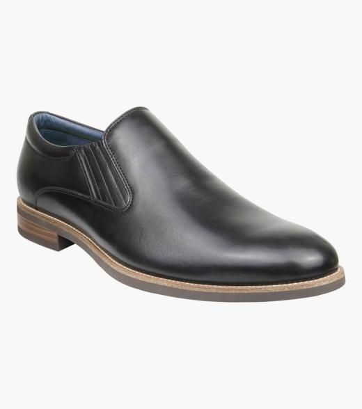 Accas Plain Toe Slip On