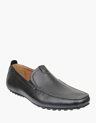 Corona MOC TOE VENETIAN DRIVER in BLACK for $159.00