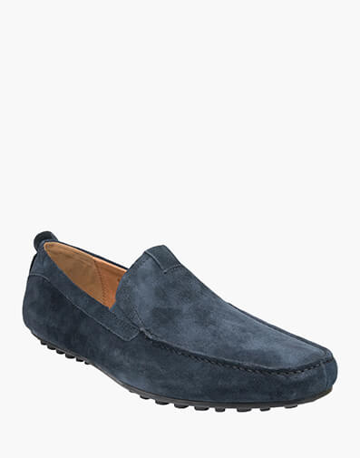 Corona MOC TOE VENETIAN DRIVER in NAVY for $159.00